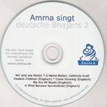 Amma singt deutsche Bhajans Vol. 2 - enthält 2 dt. und engl. Bhajans
